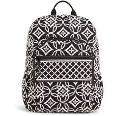 Vera Bradley Campus Backpack in Concerto ($109) ❤ liked on Polyvore featuring bags, backpacks, concerto, vera bradley bags, cross bag, pocket backpack, rucksack bag and padded backpack