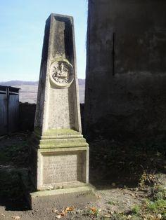 Ancient grave stone near the church