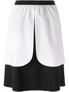 VIVETTA Apron Detail Skirt. #vivetta #cloth #skirt