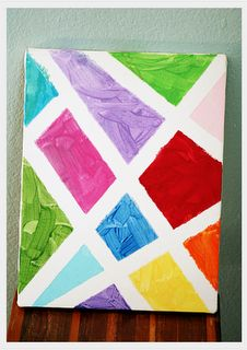 I'm totally trying this for the kids! I have been looking for a simple yet creative art project.