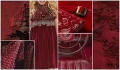 Rich Garnet elevates F/W 15/16's Burgundy into a deep, rich hue with regal undertones.