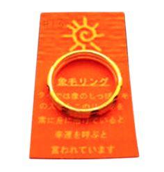 【象毛2連シルバーリング(13号)】タイでは象のしっぽの毛の入ったこのリングを常に身に付けていると、幸運を呼ぶと言われています。幸運2倍の2連リングです!ペンダントトップとしてもご利用下さい! 商品ページ→ http://kaiun.shops.net/item?itemid=21533