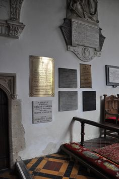 https://flic.kr/p/cJGSnJ | Shipton-under-Wychwood-118 St Mary Monuments on north wall of chancel http://www.bwthornton.co.uk/visiting-stratford-upon-avon.php