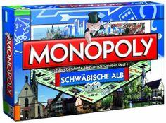 Winning Moves - Monopoly Schwäbische Alb