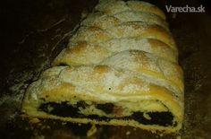 Pletený makový koláč s višňami (fotorecept) - Recept