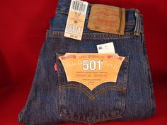 Brand New w/ Tags! Men's Levi's 501 Straight Leg Button Fly Jeans 33 x 30