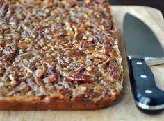 Yum... I'd Pinch That! | Pecan Cake Bars