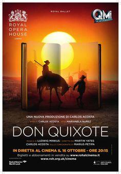 """Eventi News 24: In diretta dalla Royal Opera House, """"Don Quixote"""" di Carlos Acosta sulle coreografie originali di Marius Petipa - 16 ottobre al cinema Proposto da www.eventinews24.com"""