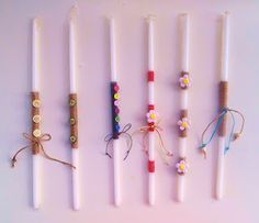 Orthodox Easter, Handmade Candles, Easter Crafts, Baptism Ideas, Lent, Birthday Candles, Lenten Season, Homemade Candles