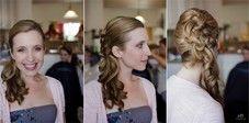 wedding hair - my work