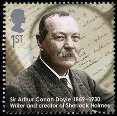 Detective Fiction on Stamps: Great Britain: Sir Arthur Conan Doyle (Sherlock Holmes)