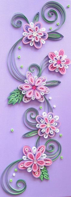 Diy Paper Quilling arşivleri - Diy How to Crafts Neli Quilling, Ideas Quilling, Paper Quilling Flowers, Paper Quilling Tutorial, Paper Quilling Patterns, Origami Patterns, Origami And Quilling, Quilled Paper Art, Quilling Paper Craft