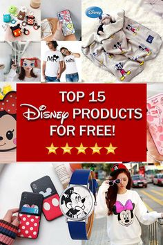Here are the top 15 Free Disney Products you won't find anywhere else! Here are the top 15 Free Disney Products you won't find anywhere else!