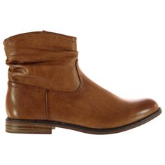 23 SoulCal | SoulCal Slouch Ankle Boot Ladies | Ladies Boots