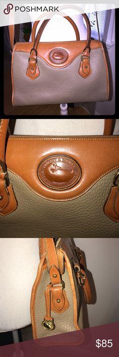 🌺Vintage Dooney & Bourke British Satchel Pre-loved see pics wear and tear ... still an amazing purse 👛 Dooney & Bourke Bags Satchels