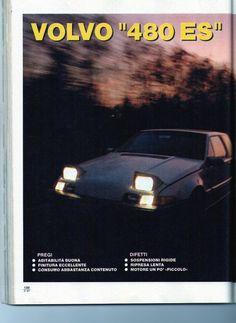 Volvo 480 magazine review 1/8
