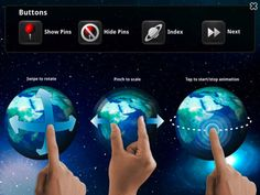 iLearn Solar System HD : Making Science Fun ($2.99) Great for 4-6 graders. Accessible! All items read aloud. Great user interface. • EXPLORE the 3D SOLAR SYSTEM MODEL    • LEARN about each PLANET in the SOLAR SYSTEM    • INTERACT with each 3D MODEL    • DROP Informational PINS and LEARN more    • Take a QUIZ and test their KNOWLEDGE, they are rewarded with stickers for correct answers.    • EXPERIENCE the Milky Way Galaxy and ZOOM in on the SOLAR SYSTEM