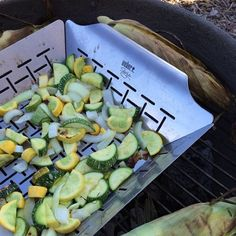 Veggies on the grill! #kbiscookoff