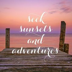 seek sunsets and adventures. always <3 sunsets and beers with best friends on a caye caulker pier. Belize is the best.