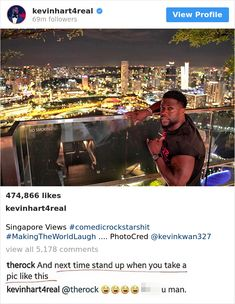 Image of: Google Street The Rock And Kevin Hart Trolling Each Other Is One Of The Funniest Bromances Ever Pinterest 806 Best Funny Images In 2019