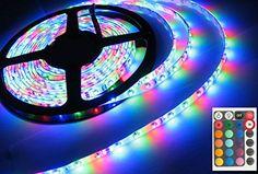 Fexible LED Bande 3528 RVB SMD 5 M 300 Led Imperméable Àcommande IR + 12 V Transformateur d'alimentation, livraison gratuite Sign Lighting, Strip Lighting, Led Flexible Strip, Light Colors, Colours, Lamps For Sale, Led Panel Light, Lights Background, Led Strip