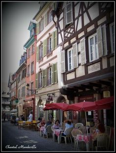 Colmar - Alsace Alsace, Street View, France