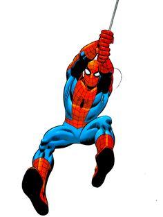 Marvel Dc, Marvel Comics, Marvel Heroes, Spiderman Pictures, Spiderman Art, Amazing Spiderman, Spiderman Coloring, Comic Book Characters, Comic Books Art