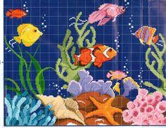 ru / Фото - I lavori femminili di Mani di Fata - Dipingi a Punto Croce 2 - tymannost Cross Stitch Sea, Cross Stitch Boards, Cross Stitch Animals, Cross Stitch Designs, Cross Stitch Patterns, Embroidery Stitches, Embroidery Patterns, Pixel Crochet, Perler Patterns