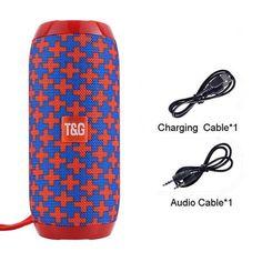 Waterproof Bluetooth Speakers - Red and Blue