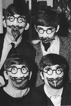John Lennon, George Harrison, Ringo Starr and Paul McCartney.