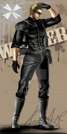 Albert wesker1989 by xiaofeihui on DeviantArt
