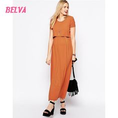 (36.01$)  Watch here - http://aiuo5.worlditems.win/all/product.php?id=32795344483 - Belva 2017 maternity summer dress ECO-FRIENDLY Premium Bamboo Fiber Knit Dress cute pregnant maternity gown photography DA571794