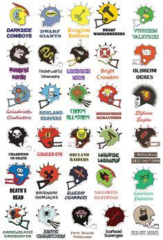 Blood Bowl : League Helmets