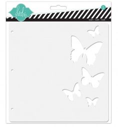 Heidi Swapp - Resist Chipboard Butterfly Album at Scrapbook.com