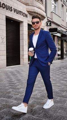 Smart Casual Dress Code for Men: 19 Best Smart Casual Outfit Ideas Best Business Casual Outfits, Stylish Mens Outfits, Business Casual Men, Blazer Outfits Men, Mens Fashion Blazer, Suit Fashion, Men Blazer, Casual Blazer, Fashion Hats