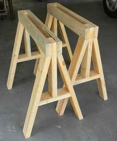 Work Horses - How to build #woodworkingplans
