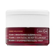 Shop KORRES' Wild Rose Vitamin C Brightening Sleeping Facial at Sephora. This overnight facial in a jar addresses uneven skin tone and texture overnight.