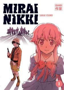 """Mirai Nikki (TV) OPIS: Gimnazjalista Amano Yukiteru, to chłopak, który ma problemy w znajdywaniu przyjaciół. Sam siebie uważa za widza, który tylko wszystko obserwuje, zaś swoje ewentualne przemyślenia zapisuje w pamięci telefonu. Dręczony samotnością, bohater zaczyna wyobrażać sobie różne rzeczy, jak na przykład przyjaciela zwanego Deus ex Machina (łac. """"Bóg z maszyny""""), będącego jednocześnie Panem Czasu i Przestrzeni. Widząc marny stan Yukiteru, Deus postanawia obdarzyć go specjalną…"""
