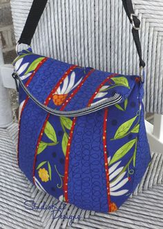 Uptown Saddlebag: StudioKat Designs