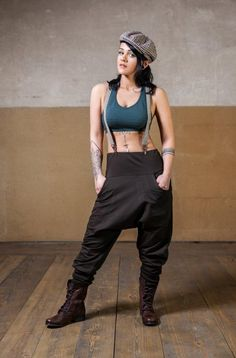 Get Cool and Comfy with our Unisex - Circle Low Crouch Pant. It is made of Cotton Baby Terry Stretch and is extremely comfortable. The round rib stitching makes the pants extraordinary. Furthermore no more words needed for the Look ;)        Size Rib Low Crouch Pant          Small   Medium   Large Jedi Outfit, Pixie Outfit, Dystopian Fashion, Cyberpunk Clothes, Drop Crotch Pants, Steampunk Clothing, S Models, Woman Fashion, Sacred Geometry