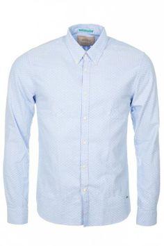 Scotch & Soda Oxford Shirt Light Blue
