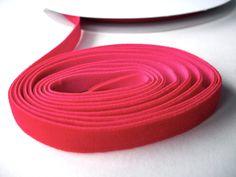 """3 yds red velvet elastic ribbon trim 3 yards 10mm 3/8"""" stretch velvet ribbon for headbands in holiday christmas red. $3.00, via Etsy."""
