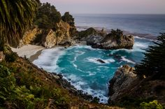 Where can you find seas more beautiful than McWay Falls? | 32 Reasons California Is The Most Beautiful State In The Country