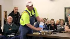 Hearing on Fracking Wastewater Well in Sioux County, NE (clip) - YouTube
