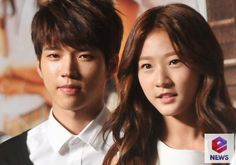 KBS High School: Love On Press Conference Woohyun and Saeron 140707 Hyun Kim, Nam Woo Hyun, Hi School Love On, Best Kdrama, Drama Fever, Lee Sung, Cute Couples, Character Inspiration, Actors & Actresses