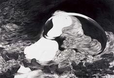 Surreal Pencil Drawings by Akino Kondoh