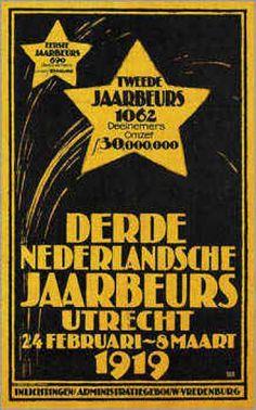 Derde Nederlandsche Jaarbeurs Utrecht.