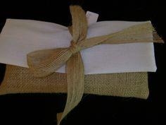 Μπομπονιέρα Γάμου από λινάτσα.... Burlap, Reusable Tote Bags, Hessian Fabric, Jute, Canvas