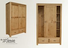 Le meuble de la collection ADRIANA, fabriqué entièrement en bois massif de pin (sapin, épicéa) avec une structure robuste, réalisée dans un style classique-moderne, avec des lignes droites et accen…