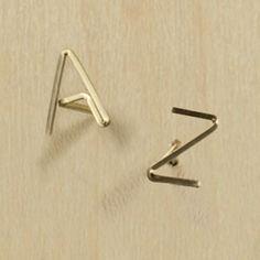 by boe's alfabet earrings $20